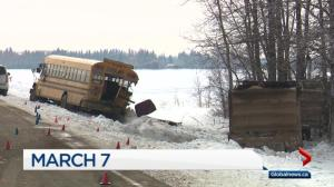 Truck driver charged in fatal Redwater school bus crash